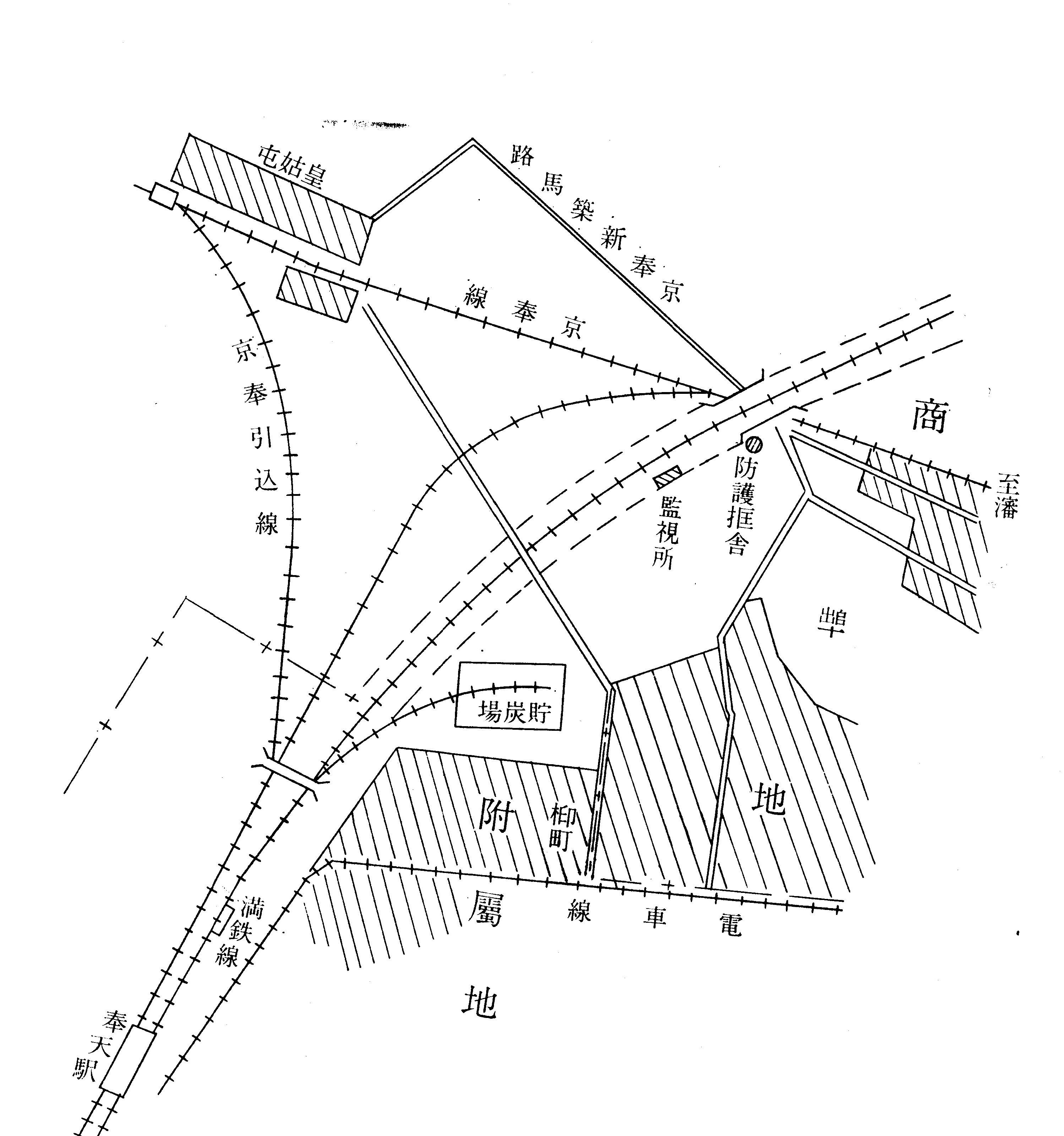 現場附近図